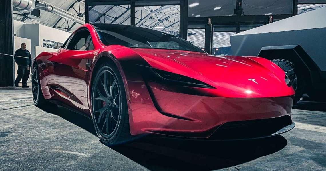 propulsori SpaceX della Roadster di nuova generazione