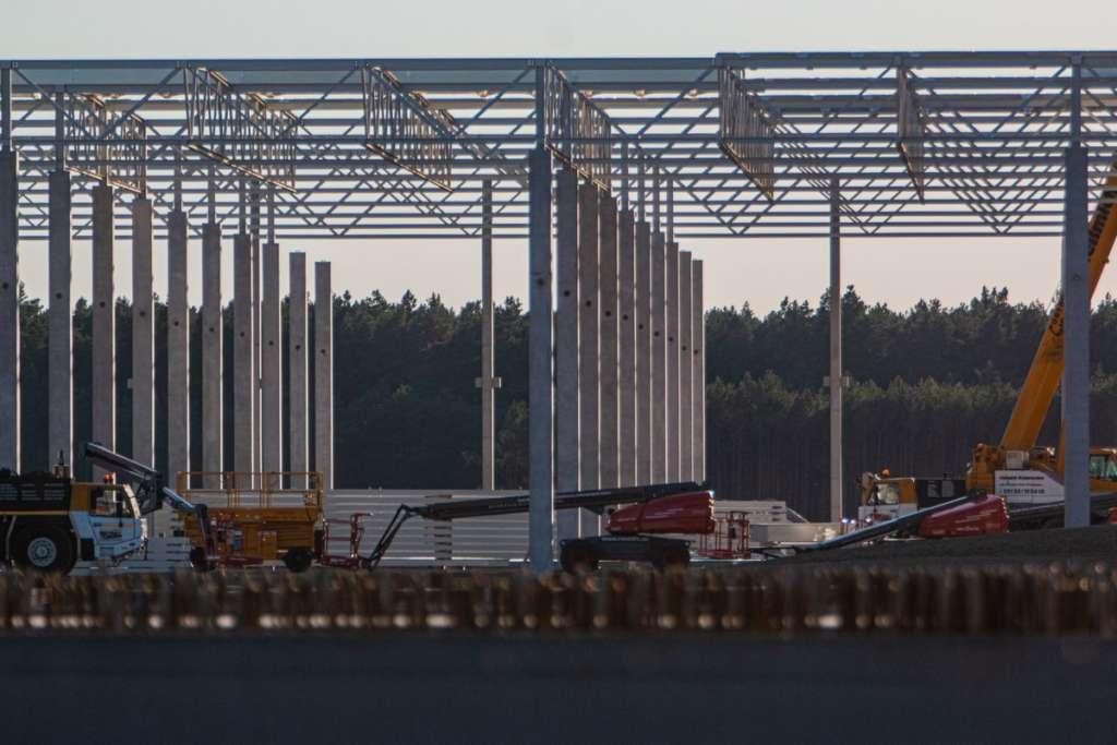 Prende forma la Gigafactory di Berlino