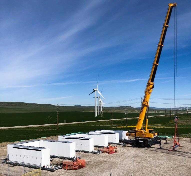 L'energy Storage Business di Tesla in costruzione in Nevada