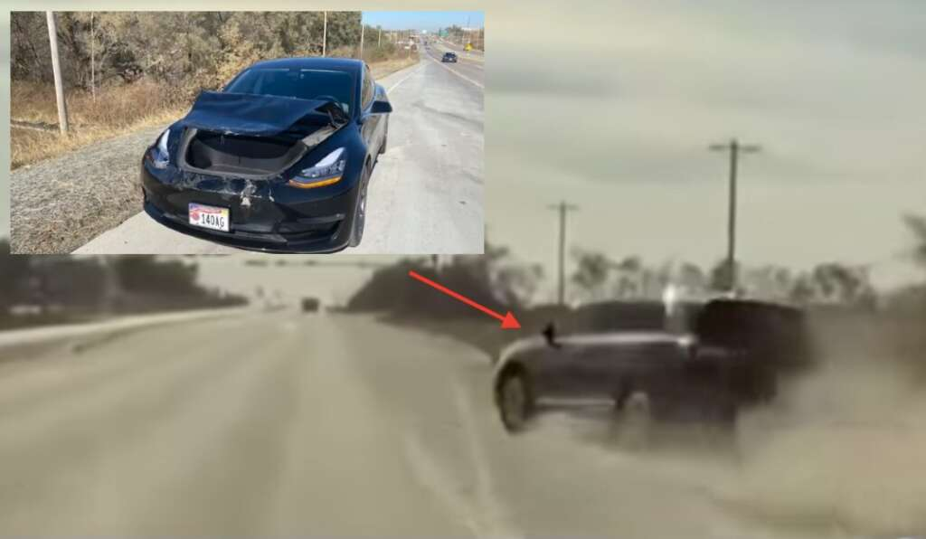 La Tesla DashCam incrimina l'autista