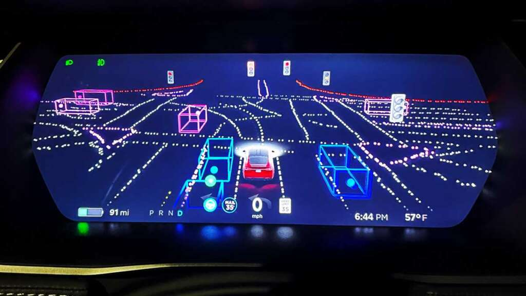 La Germania si prepara alla guida autonoma FSD Tesla