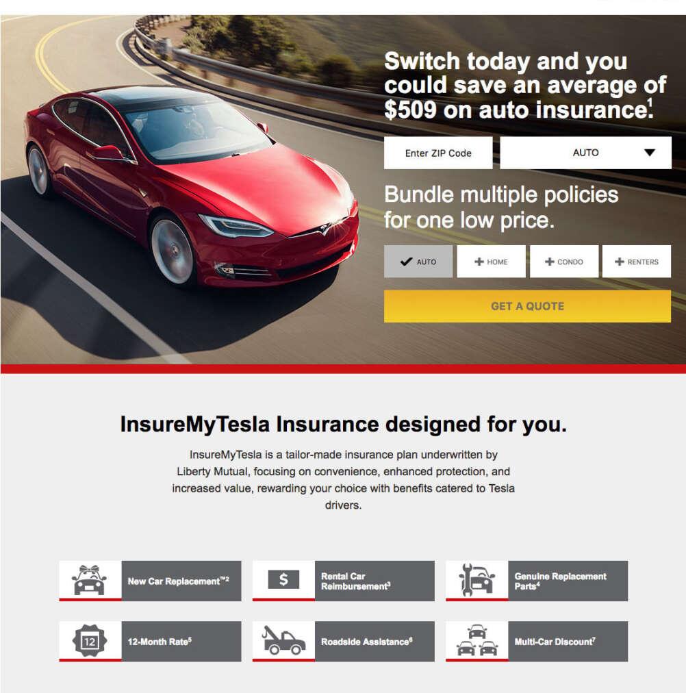 Tesla Insurance si espande assicurazione
