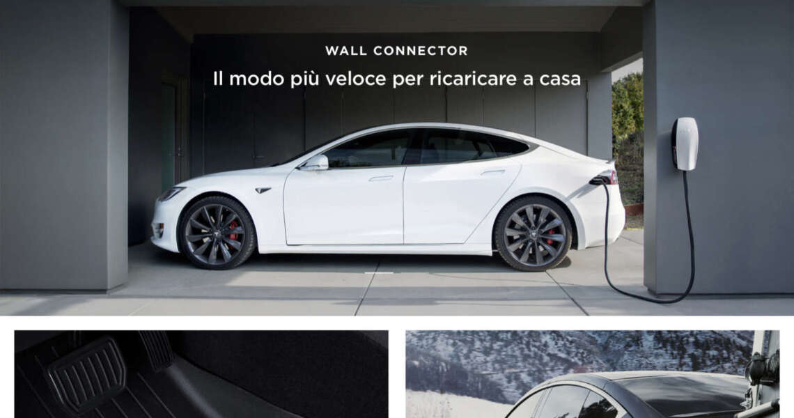 Tesla Shop apre all'Italia
