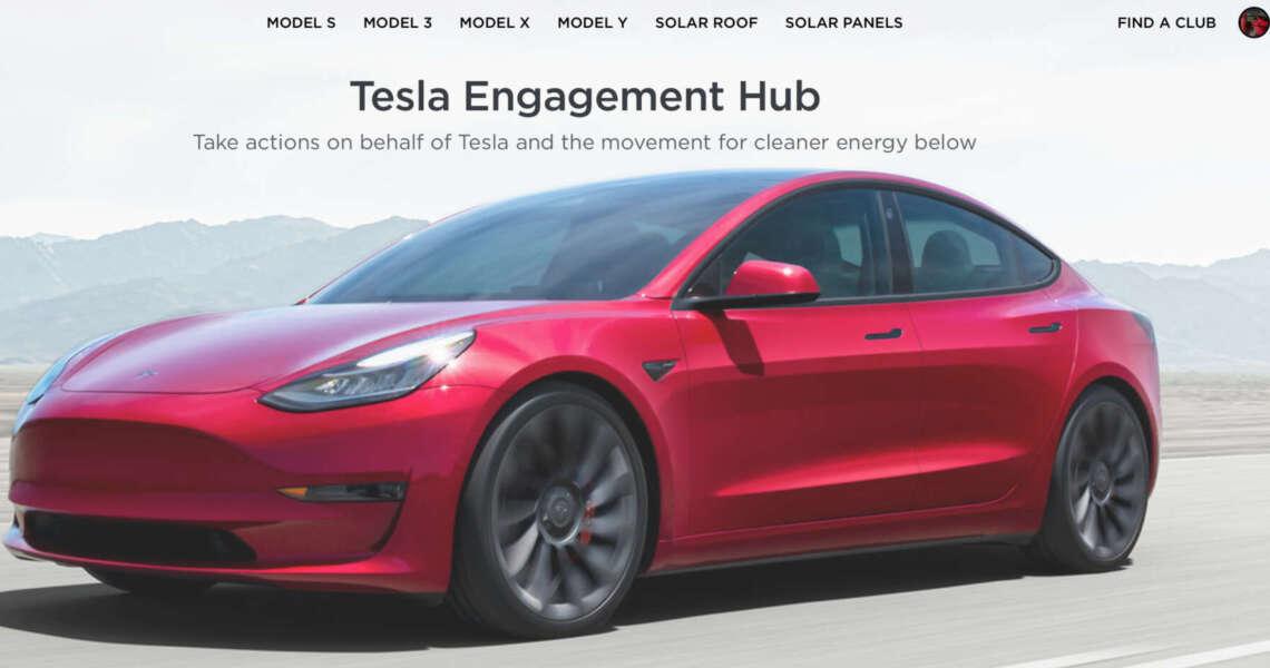 Tesla apre un proprio social: engage