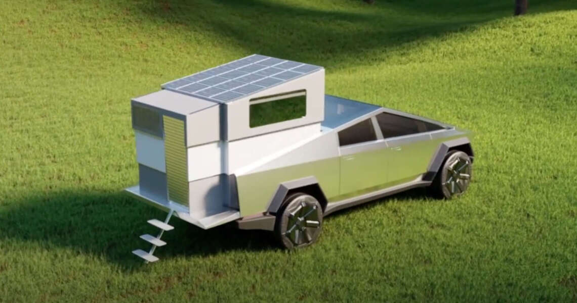 Cyberlandr trasformerà il Cybertruck in un camper