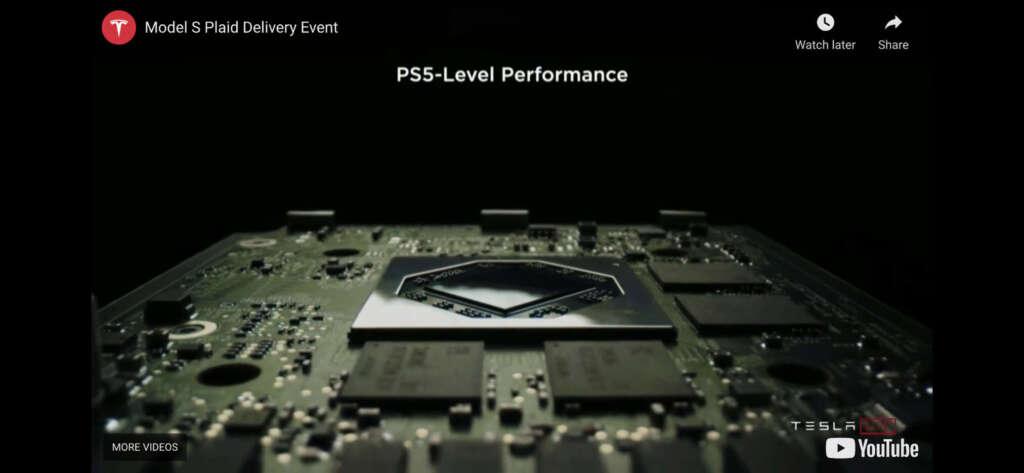 nuova model s chip ps5