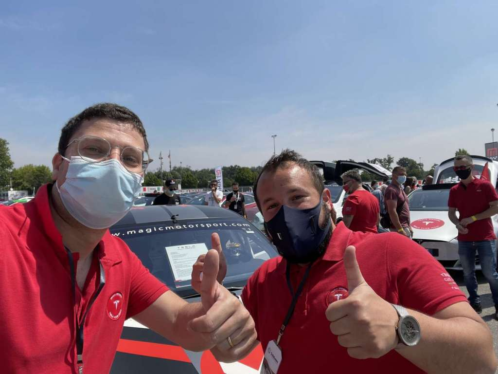 Gianluca e Valerio al Tesla Revolution 2021